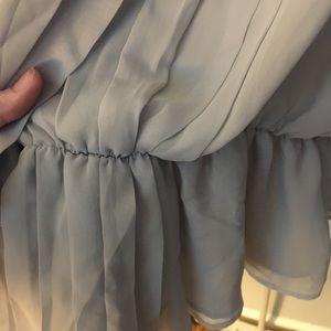 George Tops - Grey Sleeveless Blouse